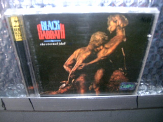BLACK SABBATH the eternal idol CD 1987 HEAVY METAL