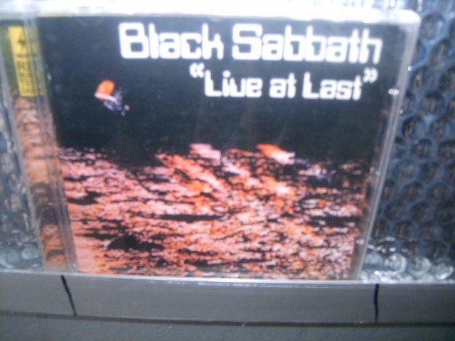BLACK SABBATH live at last CD 1980 HEAVY METAL