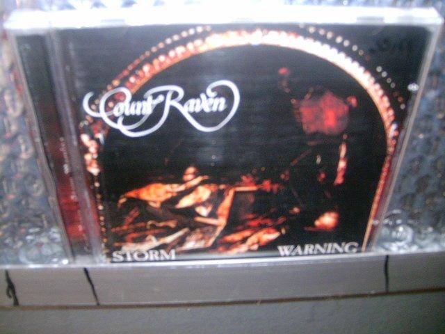 COUNT RAVEN storm warning CD 1990 DOOM HEAVY