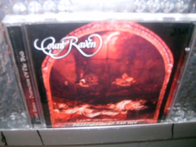 COUNT RAVEN destruction of the void CD 1992 DOOM HEAVY