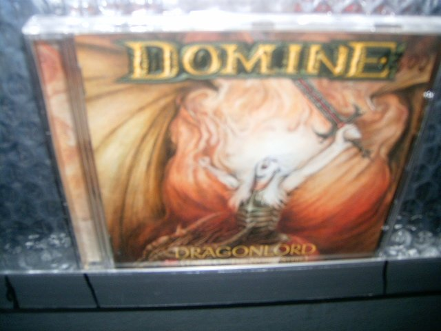 DOMINE dragonlord CD 1999 POWER METAL MELODICO