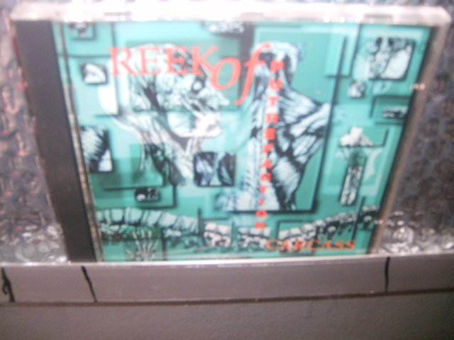 CARCASS reek of putrefaction CD 1994 DEATH/GRINDCORE**