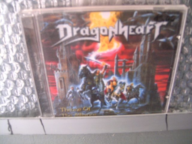 DRAGONHEART throne of the alliance CD 2003 HEAVY METAL