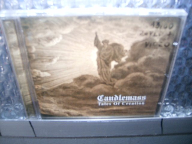 CANDLEMASS tales of creation CD DUPLO 1989 DOOM HEAVY