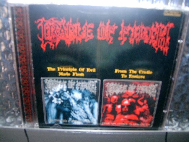 CRADLE OF FILTH the principle of evil made flesh from the cradle to enslave CD 1999  BLACK METAL