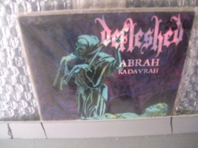 DEFLESHED abrah kadavrah CD 1998 DEATH METAL