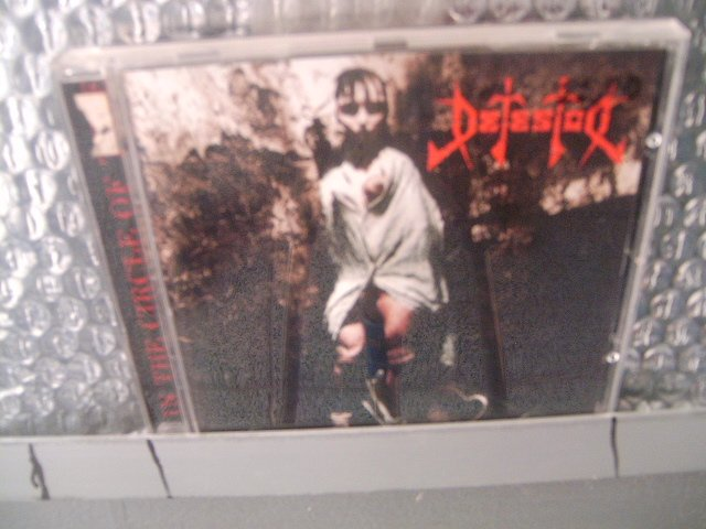 DETESTOR in the circle of time CD 1995 DEATH METAL