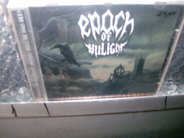 EPOCH OF UNLIGHT what will be has been CD 1998 BLACK METAL