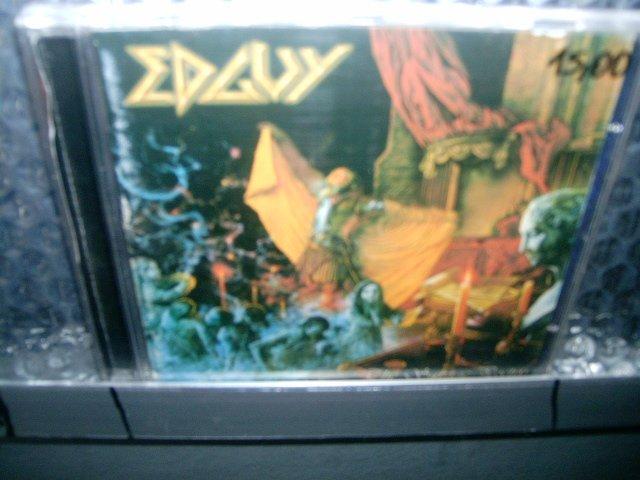 EDGUY the savage poetry CD 2000 HEAVY METAL