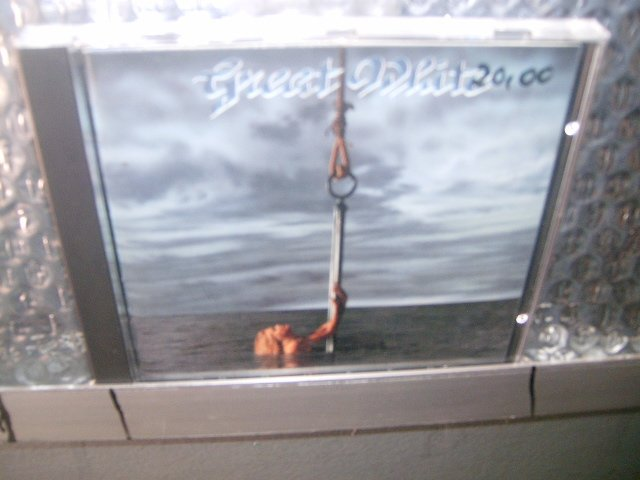 GREAT WHITE hooked CD 1991 HARD ROCK