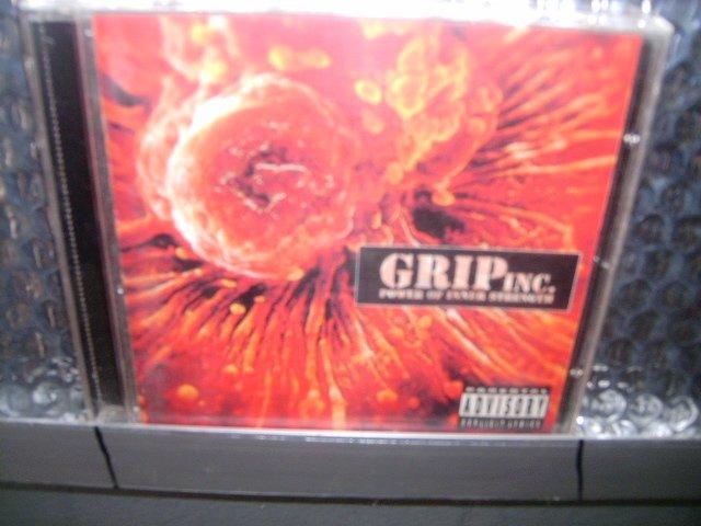 GRIP INC power of inner strength CD 1995