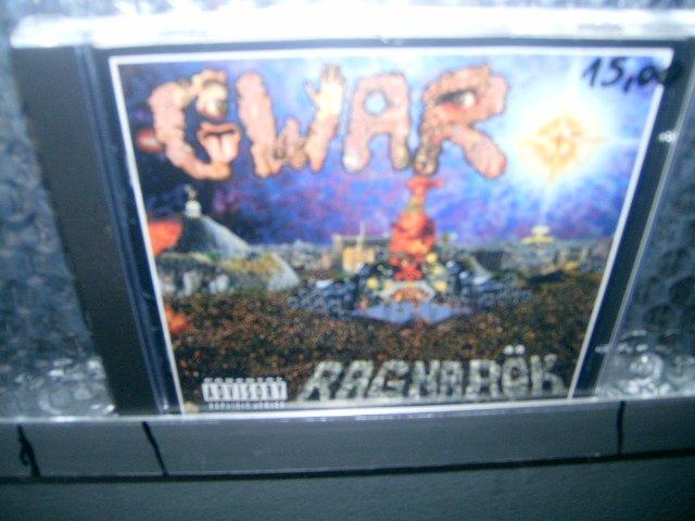 GWAR ragnarok CD 1995 PUNK ROCK / HEAVY METAL