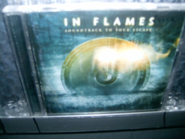 IN FLAMES soundtrack to your escape CD 2004 DEATH METAL MELODICO