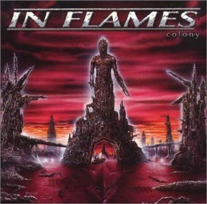 IN FLAMES colony CD 1999 MELODIC DEATH METAL