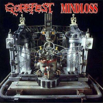 GOREFEST mindloss CD 1991 DEATH METAL