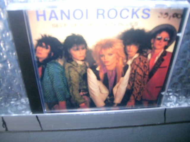 HANOI ROCKS self destruction blues CD 1983 GLAM PUNK ROCK