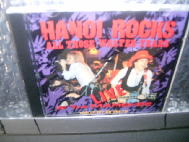 HANOI ROCKS live at marquee CD 1984 GLAM PUNK ROCK