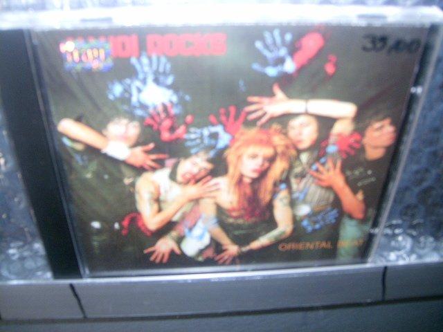 HANOI ROCKS oriental beat CD 1989 GLAM PUNK ROCK