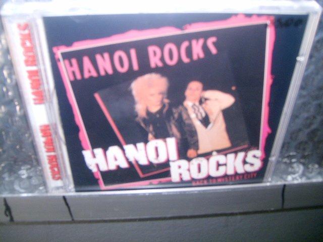 HANOI ROCKS back to the mistery city CD 1983 GLAM PUNK ROCK
