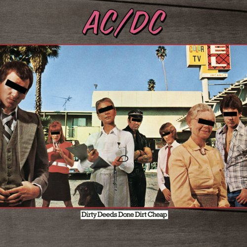 AC DC dirty deeds done dirt cheep CD 1976 ROCK