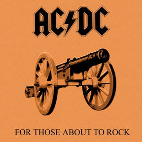 AC DC for those about to rock we salute you CD 1981 ROCK