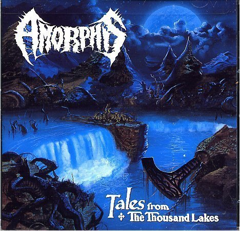 AMORPHIS tales from the thousand lakes CD 1994 PROGRESSIVE DEATH DOOM METAL