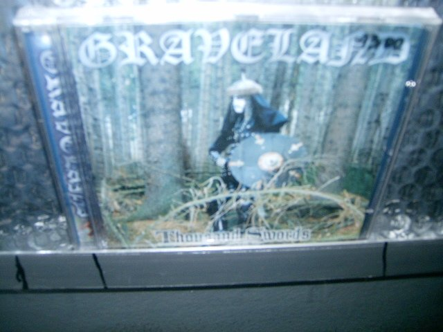 GRAVELAND thousand swords CD 1994 BLACK METAL