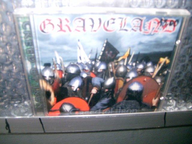 GRAVELAND creed of iron CD 2000 BLACK METAL