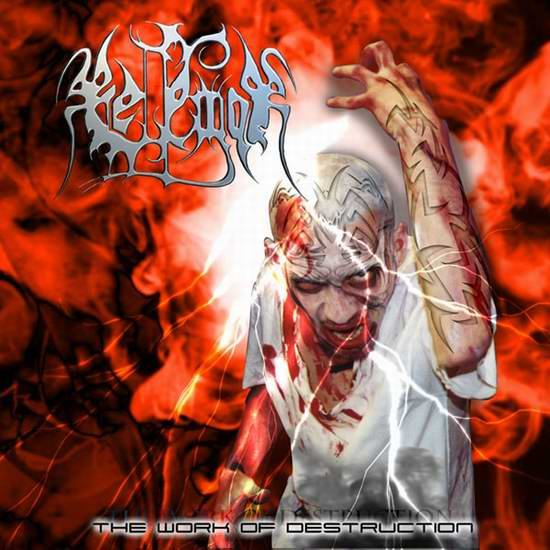 BELFEGOR the work of destruction CD 2001 DEATH METAL