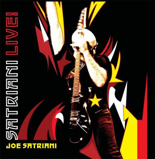 JOE SATRIANI satrian live 2CD 2006 HARD ROCK