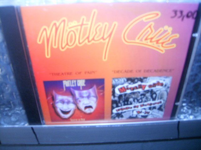 M�TLEY CR�E theatre of pain decade of decadence CD 1985/1991 HARD ROCK