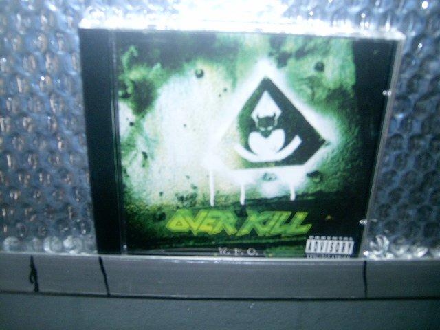 OVERKILL w.f.o. CD 1994 THRASH METAL