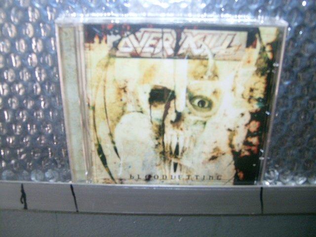 OVERKILL bloodletting CD 2000 THRASH METAL