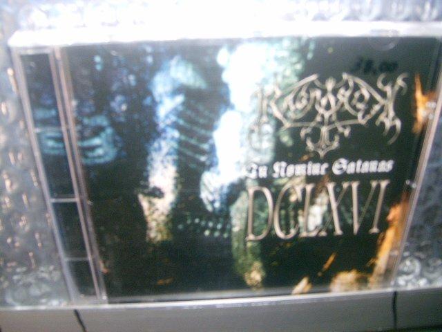 RAGNAROK in nomine satanas CD 2001 BLACK METAL