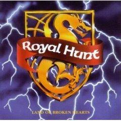 ROYAL HUNT land of broken hearts CD 1992 HEAVY METAL