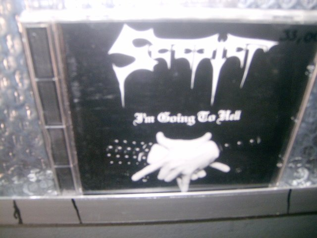 SCEPTER i'm going to hell CD 1998 BLACK METAL