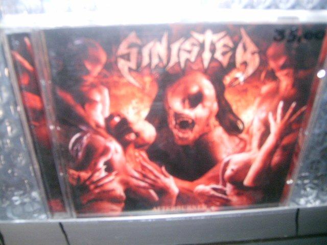 SINISTER afterburner CD 2006 DEATH METAL