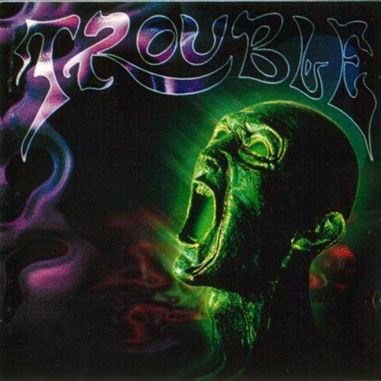 TROUBLE plastic green head CD  DOOM HEAVY METAL