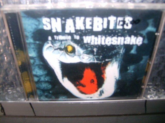 SNAKEBITES a tribute to whitesnake CD 2001 HARD ROCK