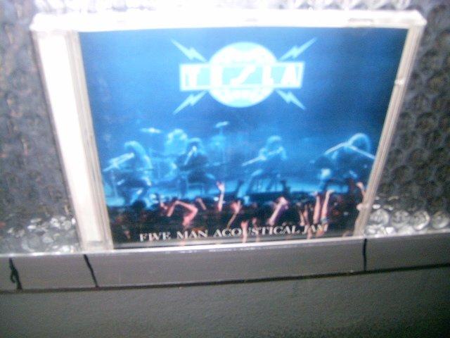 TESLA five man acoustical jam CD 1990 HARD ROCK