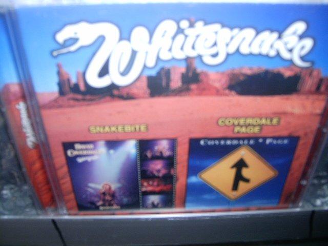 WHITESNAKE snakebite coverdale page CD 1978/1993 HARD ROCK