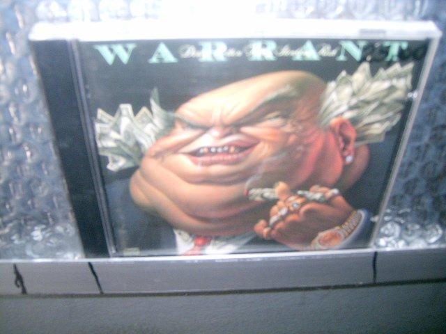 WARRANT dirty rotten filthy stinking rich CD 1988 HARD ROCK