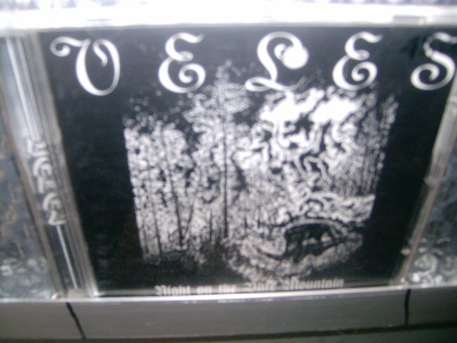 VELES night on the bare mountain/black hateful metal CD 1995 BLACK METAL