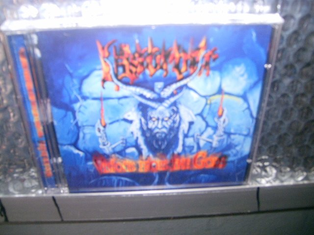 USURPER visions from the gods CD 2000 BLACK METAL