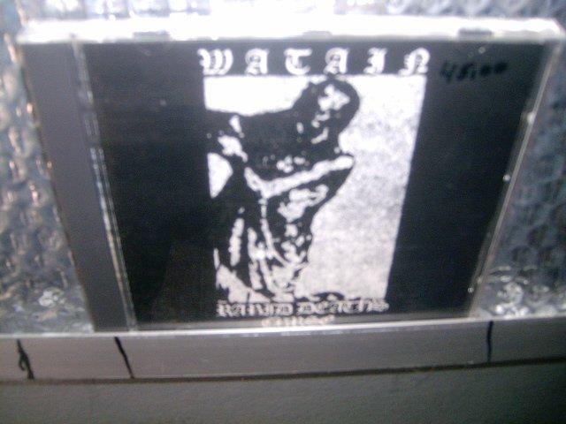 WATAIN rabid death's curse CD 2004 BLACK METAL