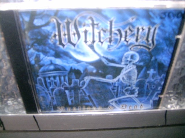 WITCHERY restless & dead CD 1998 HEAVY/THRASH METAL
