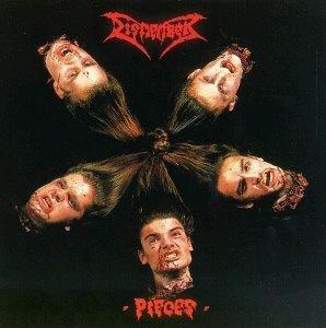 DISMEMBER indecent & obscene pieces CD 1992 DEATH METAL
