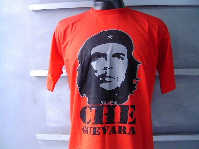 CHE GUEVARA T SHIRT RED L