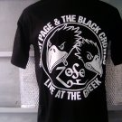 JIMMY PAGE & THE BLACK CROWES T SHIRT BLACK L