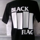 BLACK FLAG T SHIRT BLACK L